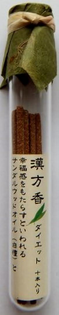 感心する検体プロテスタント悠々庵 漢方香(細ビン)ダイエット