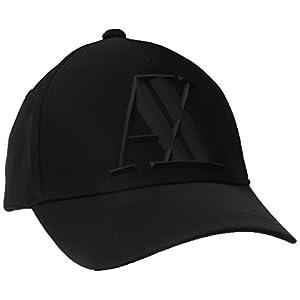 (AX アルマーニ エクスチェンジ) AX ARMANI EXCHANGE ビッグロゴキャップ 954079/CC518 954079/CC518 00020 NERO TU