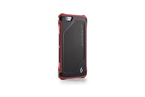 【日本正規代理店品】Elementcase Sector Pro for iPhone6 Red/Black アルミ CNC加工 カーボンファイバー