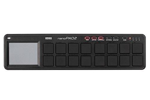 KORG USB MIDIコントローラー NANO PAD2 ナノパッド2 ブラック