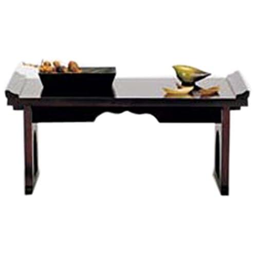 koeki 木製折り畳み机 ブラウン FLD60(BR)