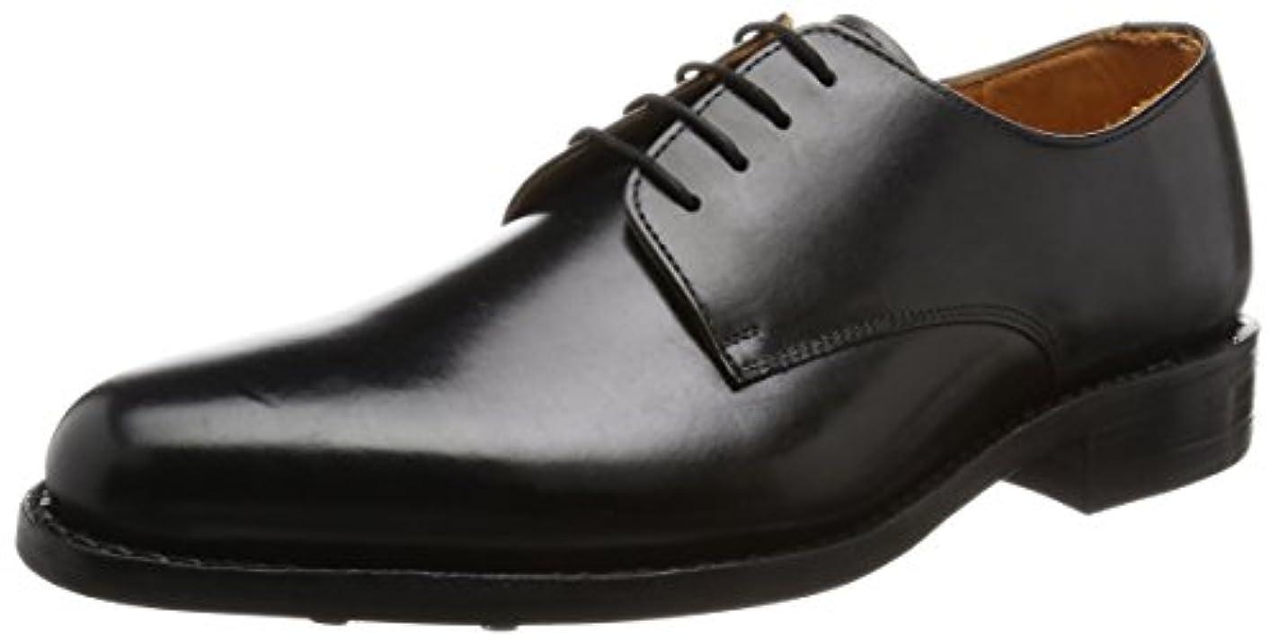 気難しいスキム外出[ロンドンシューメイク] London Shoe Make ドレスシューズ 外羽根プレーントゥ デュプイレザー×ダイナイトソール 317 317