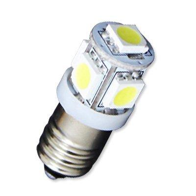 E10 口金サイズ LED豆電球 【4~6V対応】 5LED...
