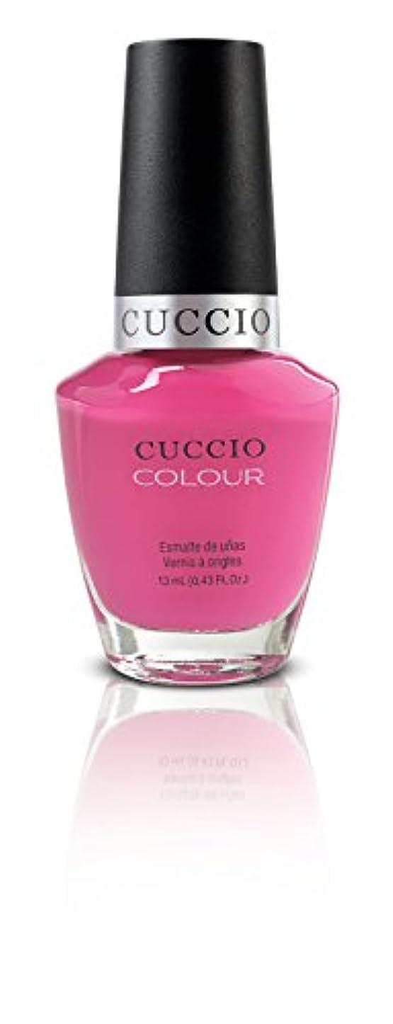 感謝祭タワー橋脚Cuccio Colour Gloss Lacquer - Pink Cadillac - 0.43oz/13ml