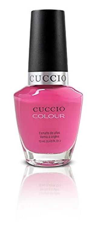 給料フリル七面鳥Cuccio Colour Gloss Lacquer - Pink Cadillac - 0.43oz/13ml