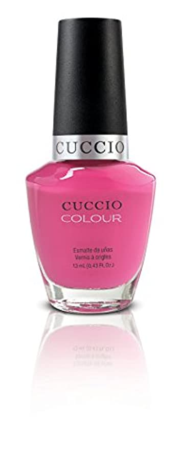 継続中間違いヒョウCuccio Colour Gloss Lacquer - Pink Cadillac - 0.43oz/13ml