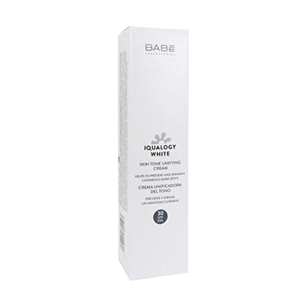 幾何学なかなかウェーハBab Iqualogy White Cream Spf30 50ml [並行輸入品]