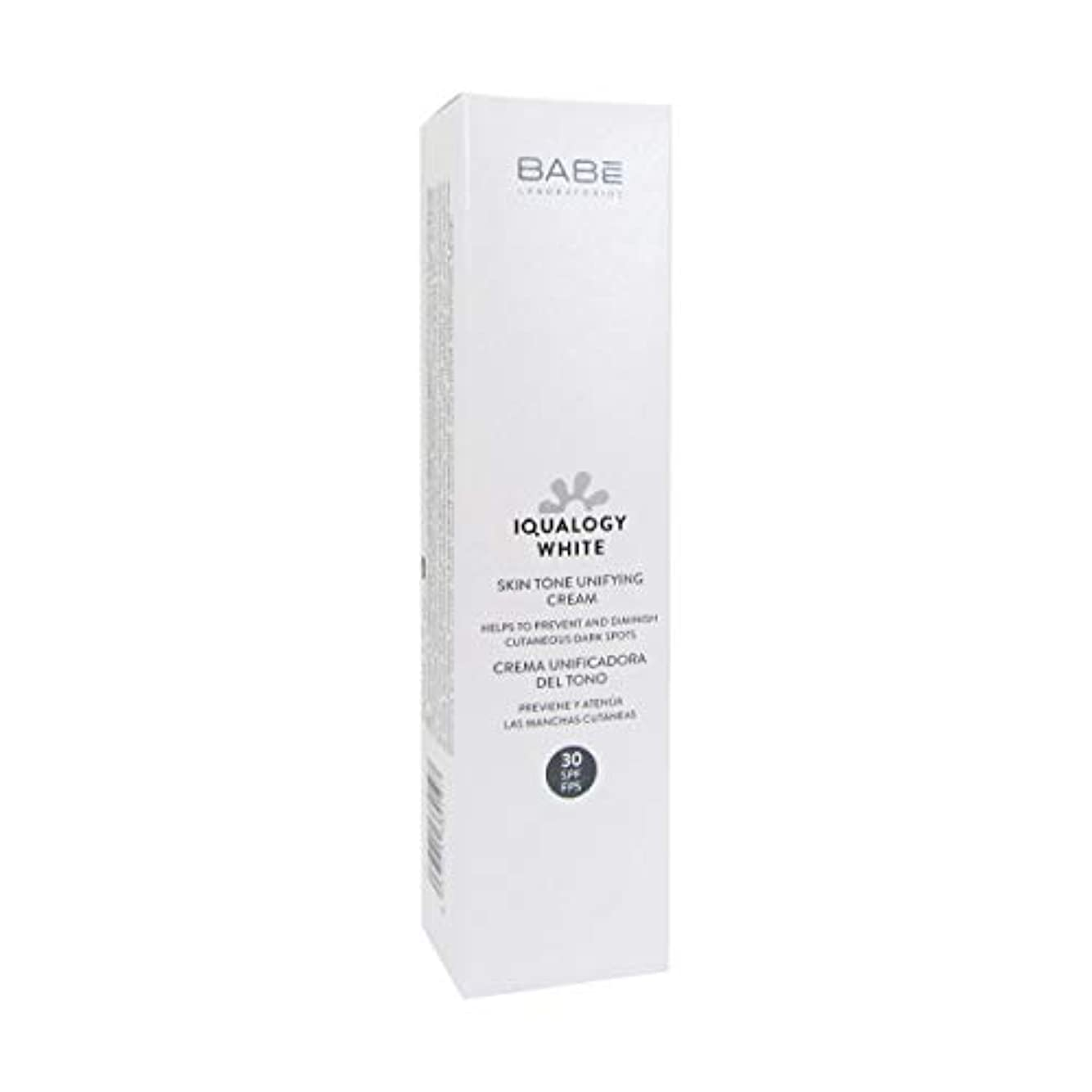 達成する情熱ハブBab Iqualogy White Cream Spf30 50ml [並行輸入品]