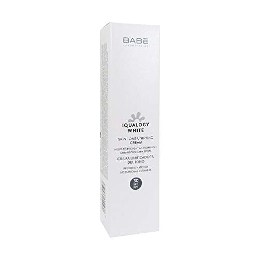 アフリカ二年生通知するBab Iqualogy White Cream Spf30 50ml [並行輸入品]