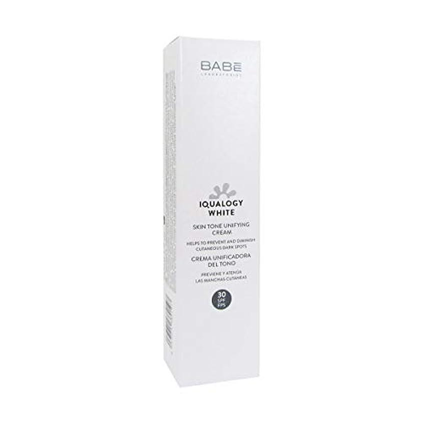 弁護石膏機構Bab Iqualogy White Cream Spf30 50ml [並行輸入品]