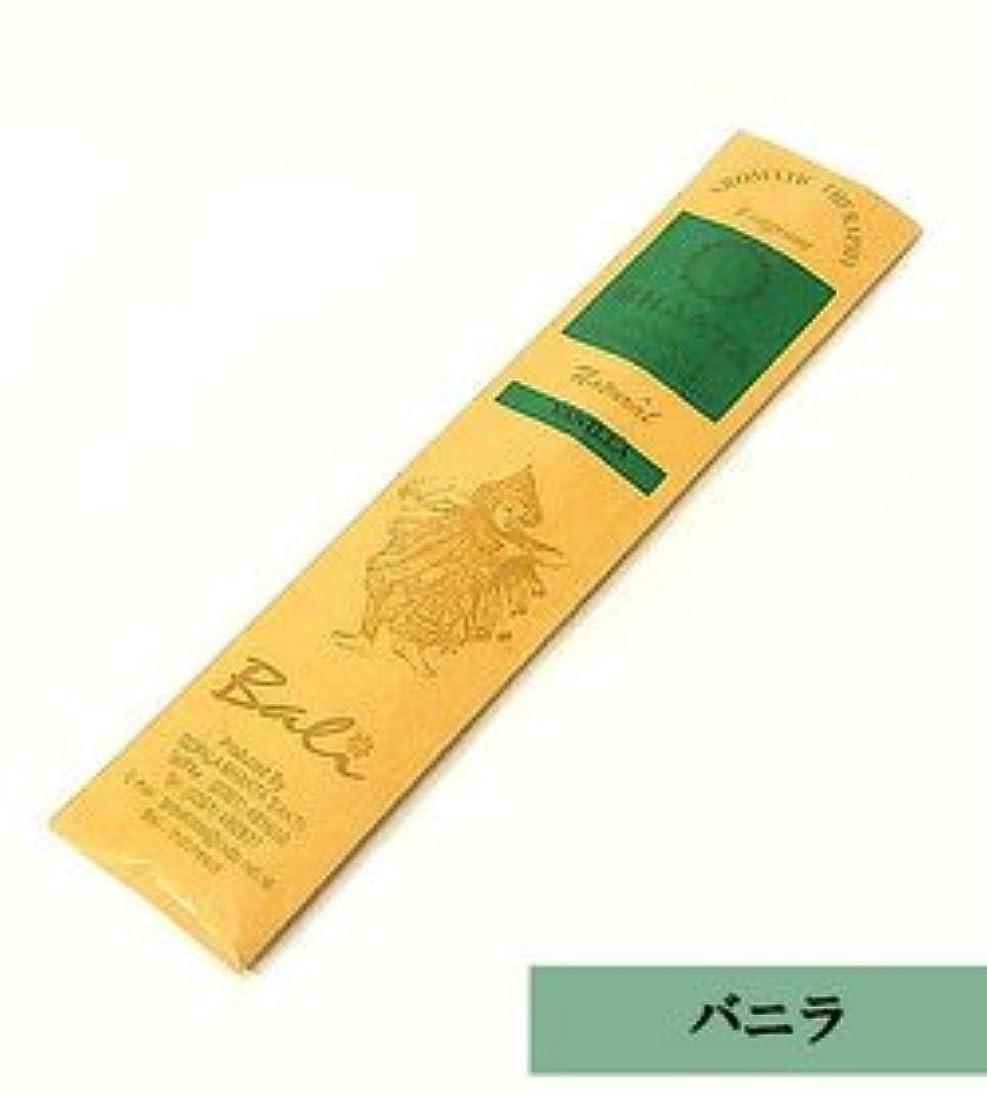 全員慣れている思いやりのあるバリのお香 BHAKTA 【バニラ】 VANILLA ロングスティック 20本入り アジアン雑貨