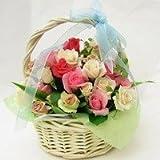 バラのアレンジメント ダイアモンド  還暦お祝いに!【お祝い・記念日・誕生日・フラワーギフト・バラ】