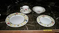 Noritake夏Estate 5-piece Dinnerware Place Setting、サービスfor 1
