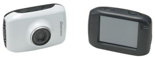 RAMASU(ラマス) ウェアラブルカメラ ホワイト RA-...