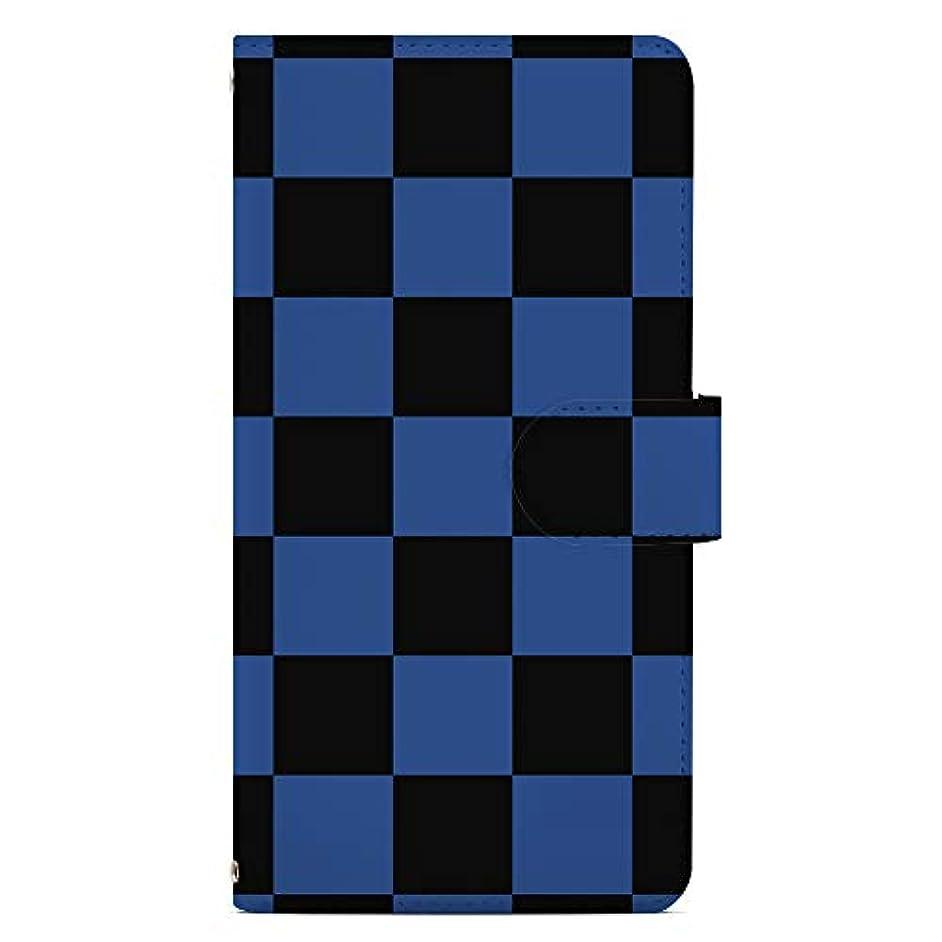 別に権威共和党iPhone SE/iPhone 5/ 5s/ 5c ケース 手帳型 カバー スタンド機能 カードホルダー シンプル市松