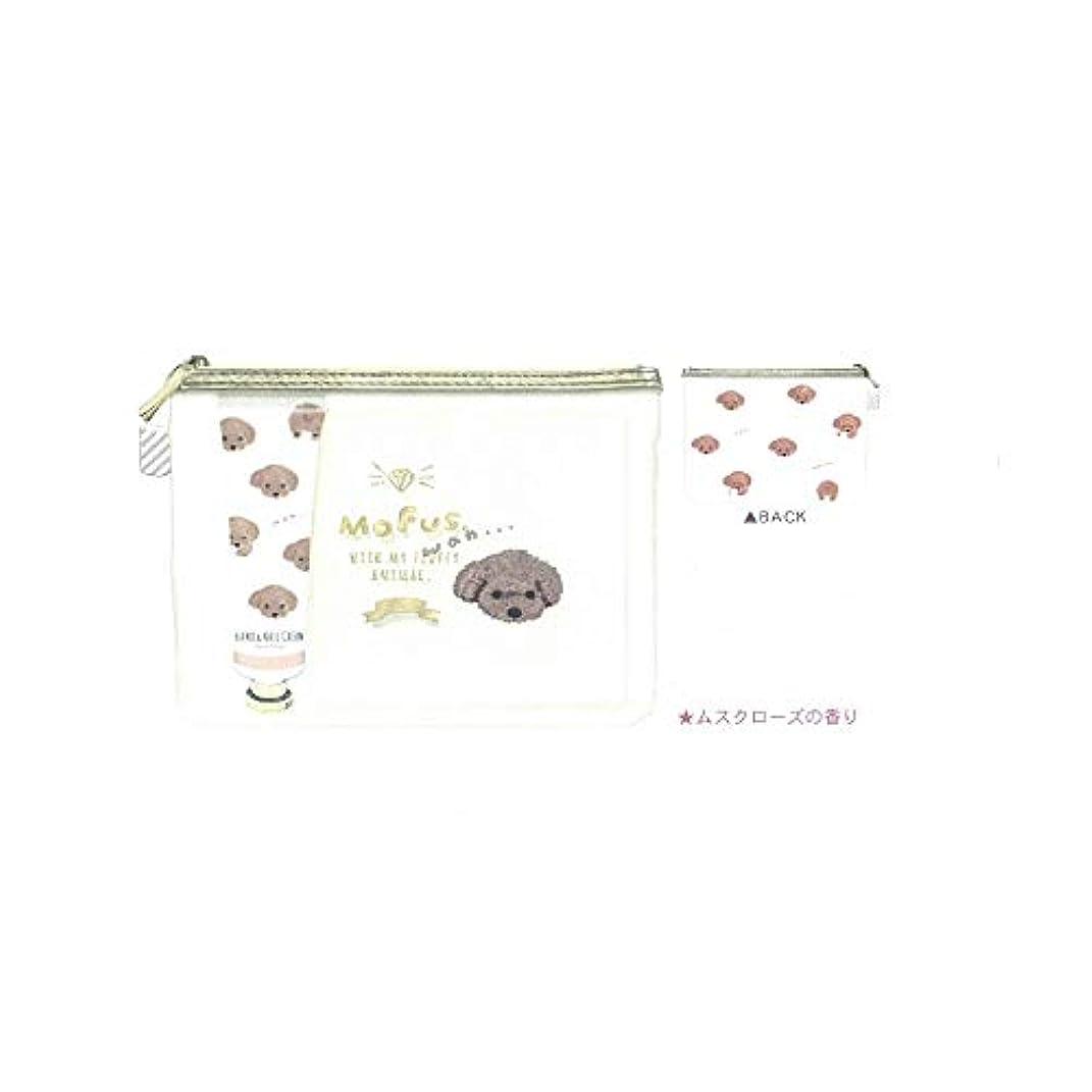 ほぼアンペアテレビ【ハンドケアギフトセット】ローズ&ベリーの香り◆モフズ といぷー (49224)