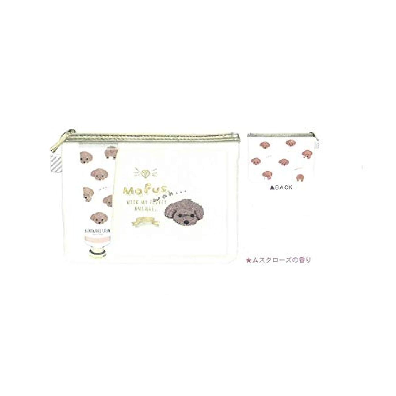 ほんの縁石リボン【ハンドケアギフトセット】ローズ&ベリーの香り◆モフズ といぷー (49224)