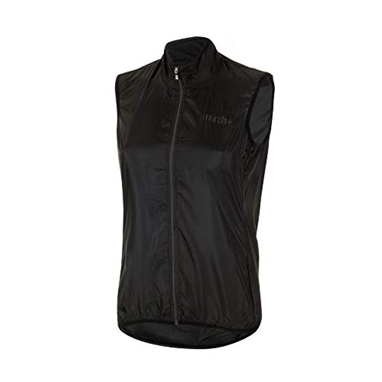 限られた不足成熟[アールエイチプラス] SSCX564 Emergency Pocket Vest R90 Black-Reflex XS Shell サイクルベスト メンズ EU (日本サイズXS相当)