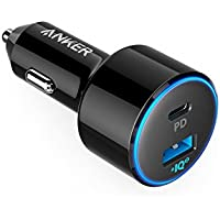 Anker PowerDrive Speed+ 2-1 PD & 1 PowerIQ 2.0(Power Delivery&PowerIQ 2.0対応 2ポートカーチャージャー) iPhone/iPad/Galaxy/Xperia その他Android各種対応