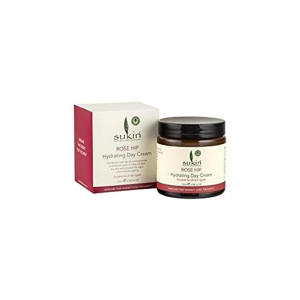 徹底と闘う菊Rose Hip Hydrating Day Cream (120ml) - ヒップ水和デイクリーム(120ミリリットル)をバラ [並行輸入品]