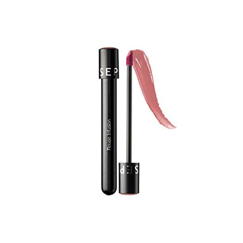 スロープ周辺ためらうSEPHORA COLLECTION ルージュリップステイン輸液- Rosebud, Rouge Infusion Lip Stain, 0.152 oz / 4.3g [並行輸入品] [海外直送品]