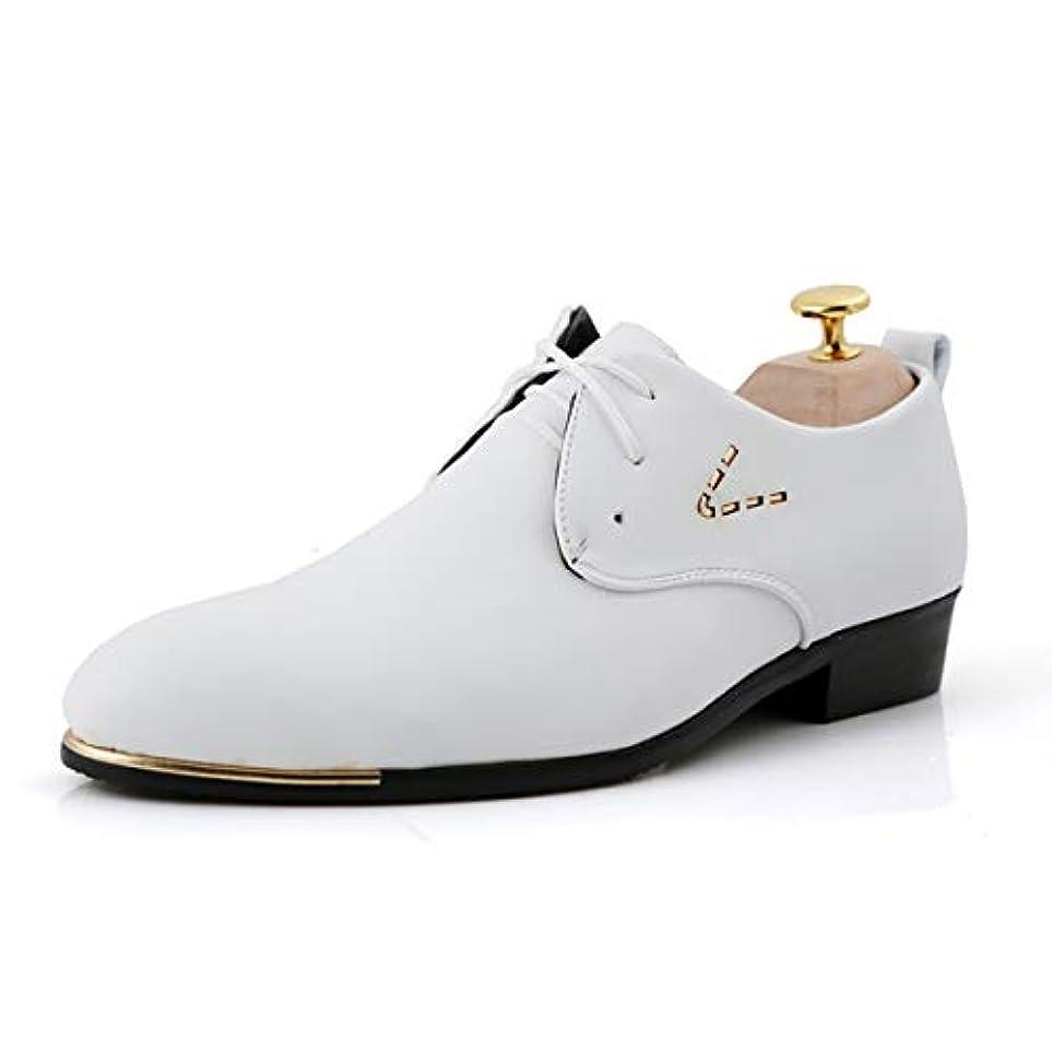 ヶ月目決定する薬を飲む[Poly] メンズシューズ レザーシューズ ドレスシューズ レースアップ ビジネスシューズ カジュアル靴 紳士靴 ハイヒール ストレートチップ G-A55021