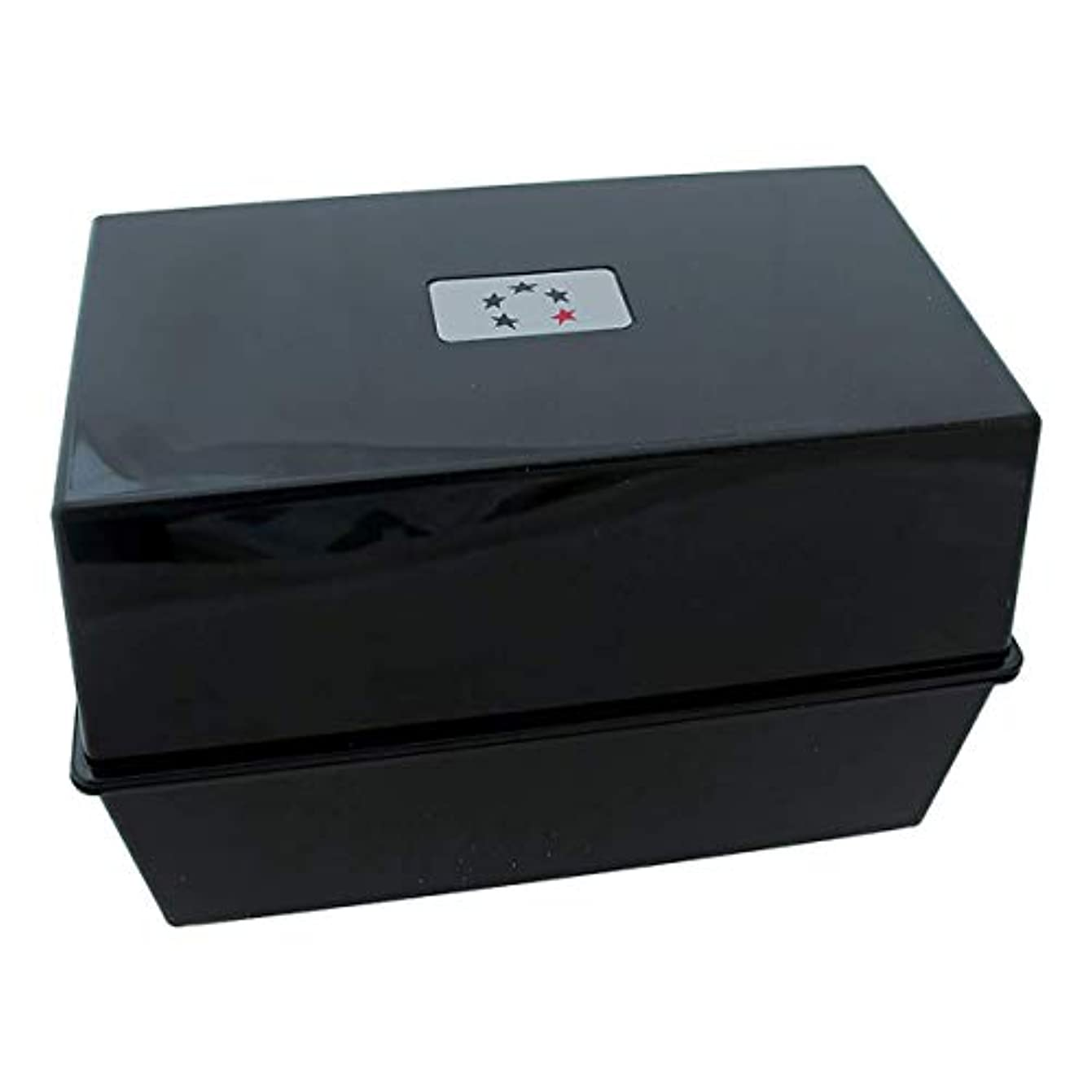 ワイン変動する虚弱アジェンダ サロンコンセプト カードインデックスボックスブラック(A-Zカード含む)[海外直送品] [並行輸入品]