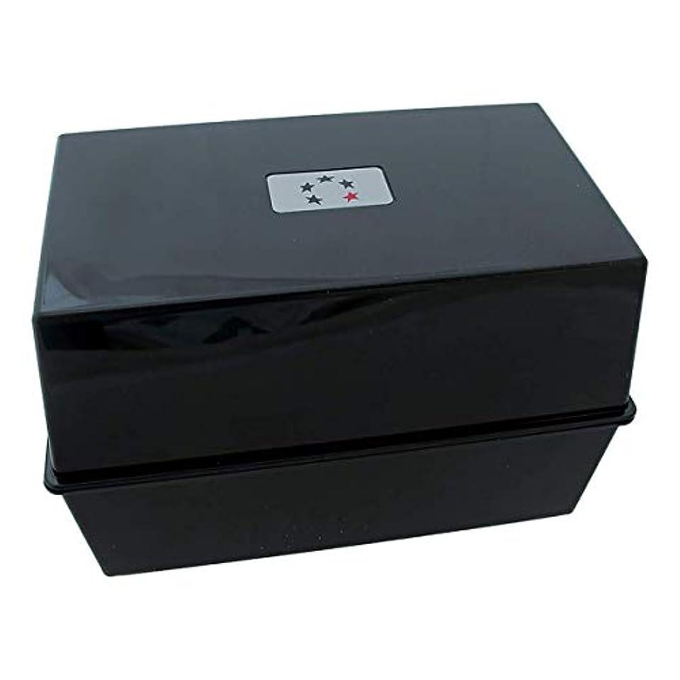 インターネットテーブルを設定するコンパイルアジェンダ サロンコンセプト カードインデックスボックスブラック(A-Zカード含む)[海外直送品] [並行輸入品]