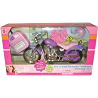 Barbie(バービー) Purple Tethered Remote Control Motorcycle ドール 人形 フィギュア(並行輸入)