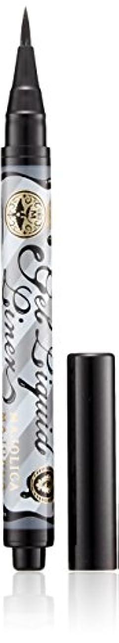 特徴定義するつばマジョリカ マジョルカ ジェルリキッドライナー BK999 漆黒 (ウォータープルーフ) 1.4mL