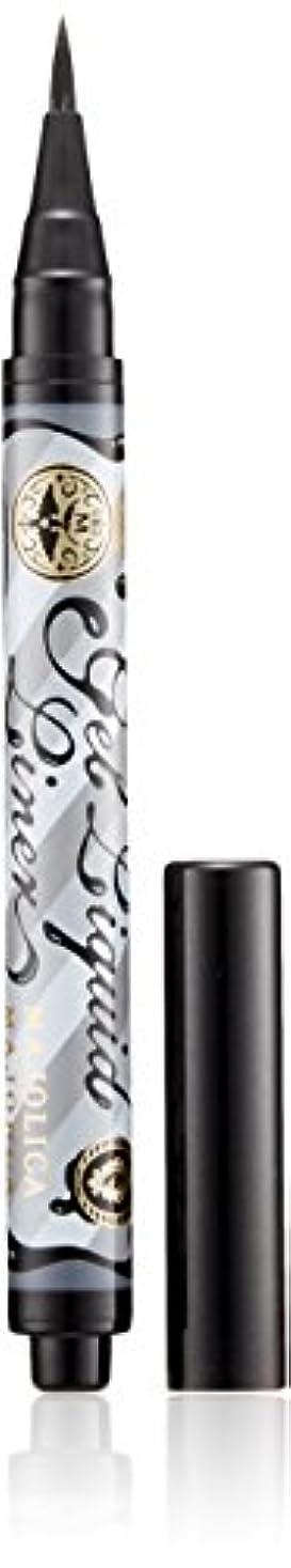 賛辞カーフユニークなマジョリカ マジョルカ ジェルリキッドライナー BK999 漆黒 (ウォータープルーフ) 1.4mL