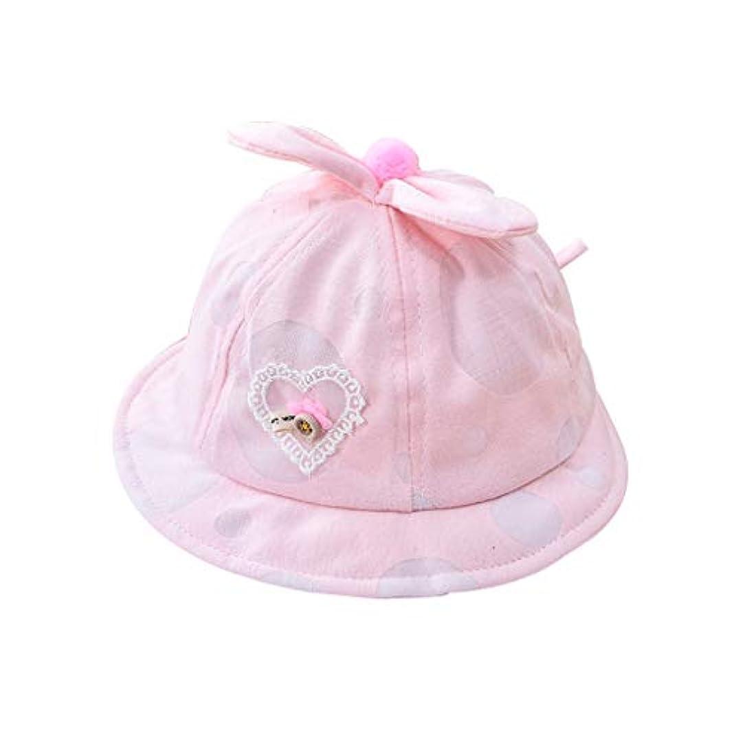 誓い前提破裂帽子 ハット 赤ちゃん幼児男の子女の子夏漫画愛耳帽子幼児プリントキャップ