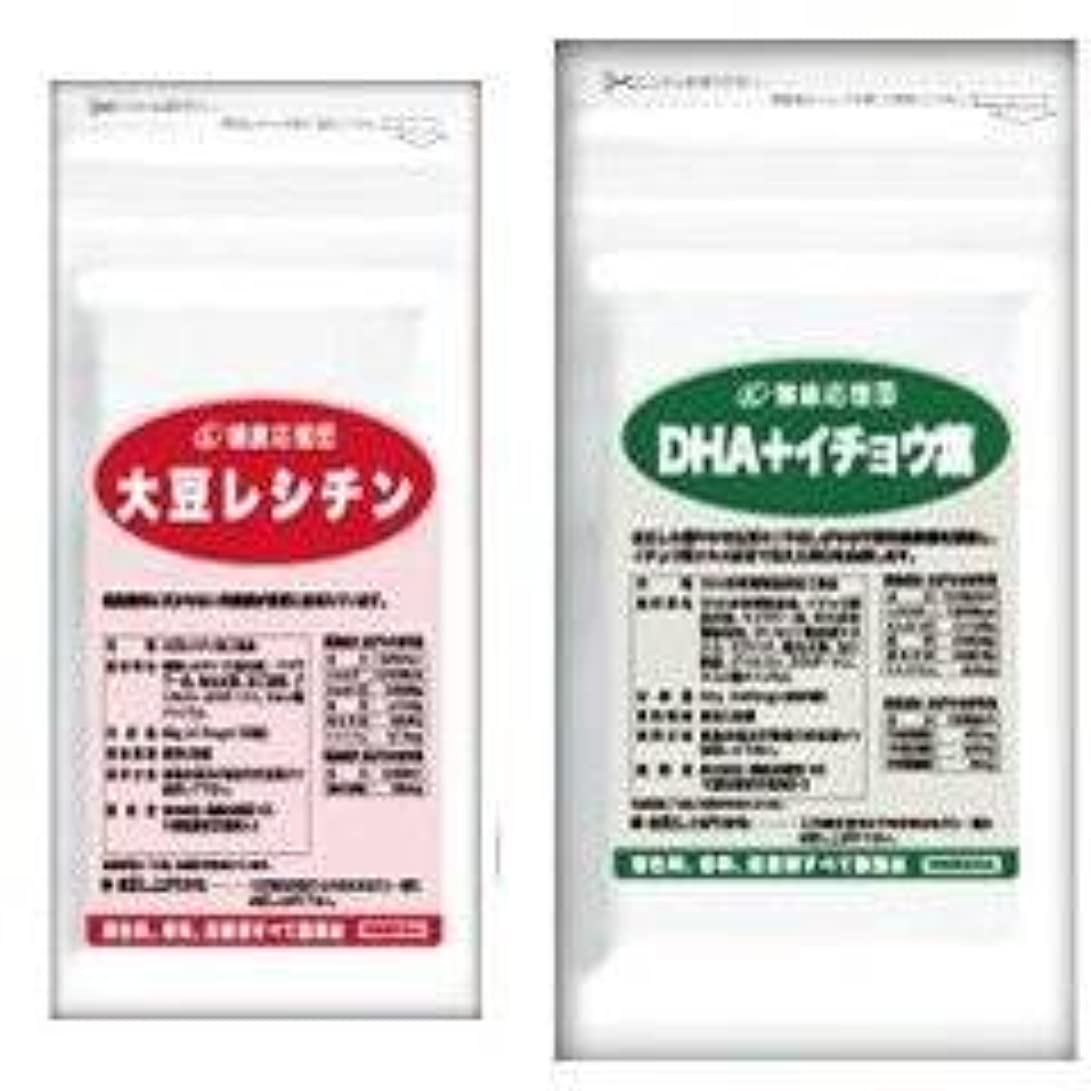 おびえた地震ヒット(お徳用6か月分)流れサラサラセット 大豆レシチン+(DHA?EPA+イチョウ葉)6袋&6袋セット