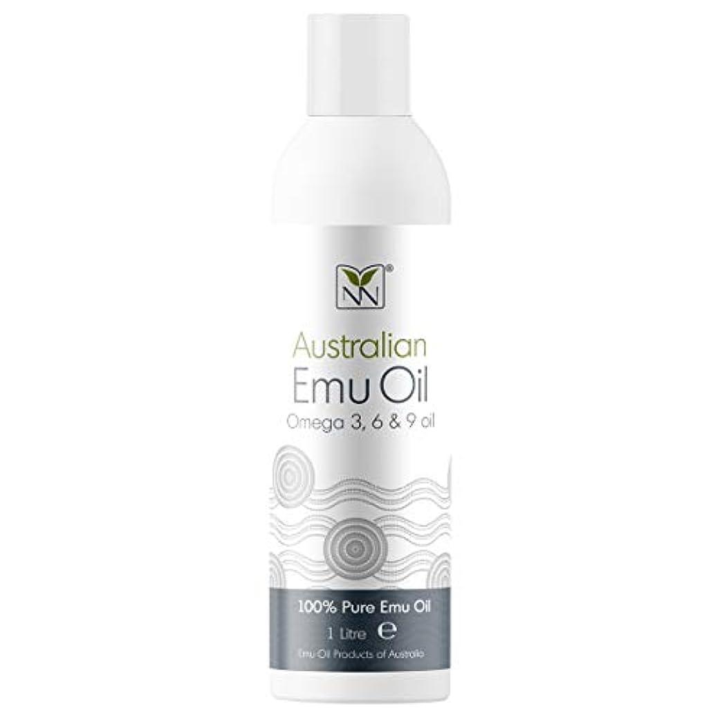 心理学許容令状Y Not Natural エミューオイル EMU OIL 無添加100% 保湿性 浸透性 抜群 プレミアム品質 エミュー油 (1000 ml)