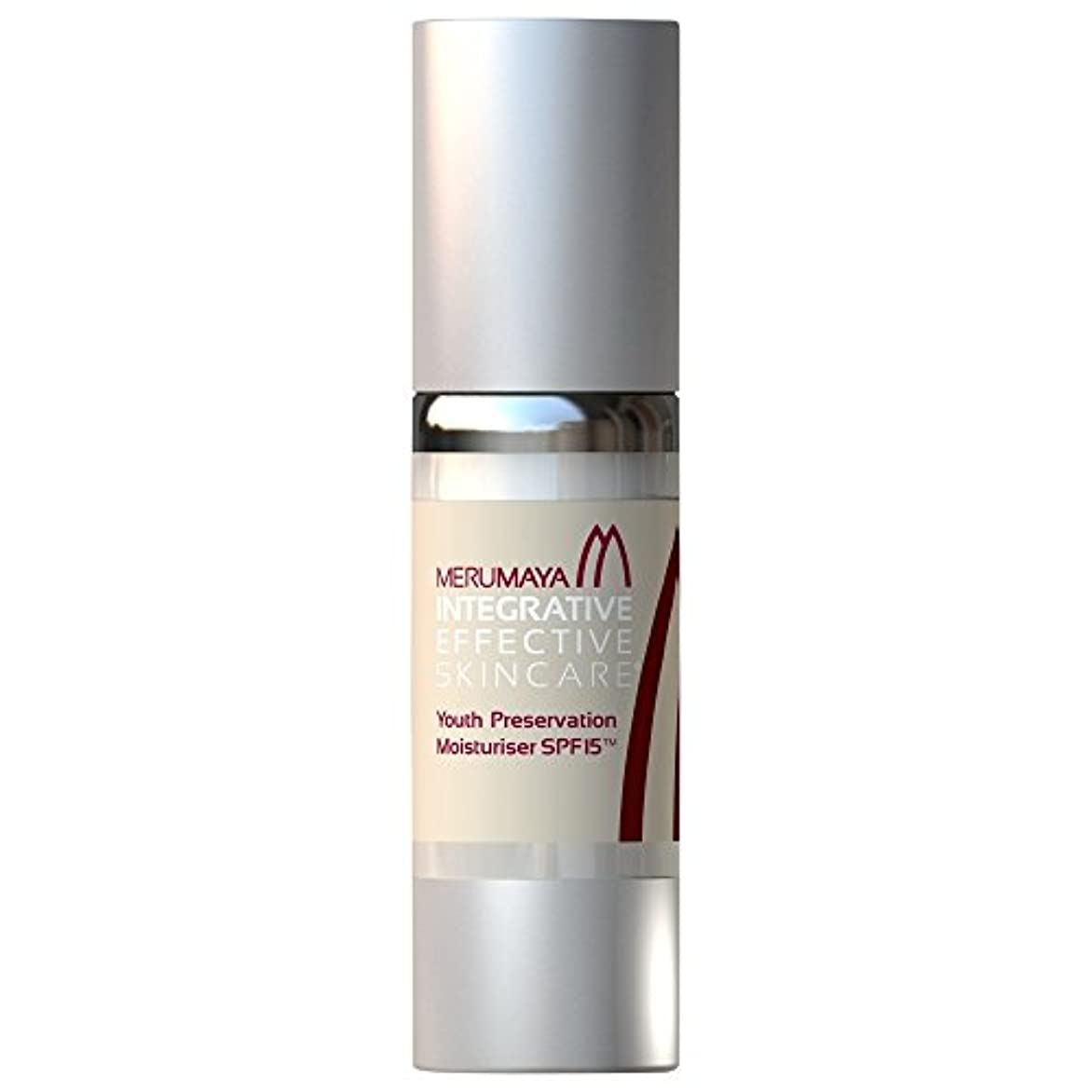 Merumaya若者の保全保湿?のSpf15、30ミリリットル (Merumaya) (x6) - MERUMAYA Youth Preservation Moisturiser? SPF15, 30ml (Pack of...