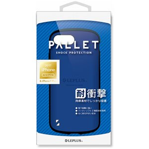 86dc1d5f9f MS Products iPhone 8 Plus/7 Plus用 耐衝撃ケース「PALLET」 ブルー