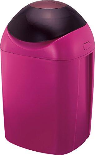 強力防臭抗菌おむつポット ポイテック ワインレッド(1台)