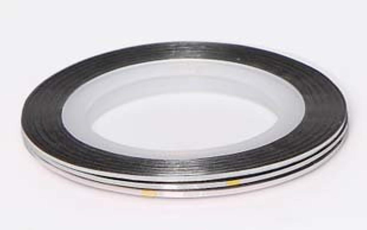 欲しいですアルミニウムクレタ【ラインストーン77】 ラインテープ 1mm 銀色