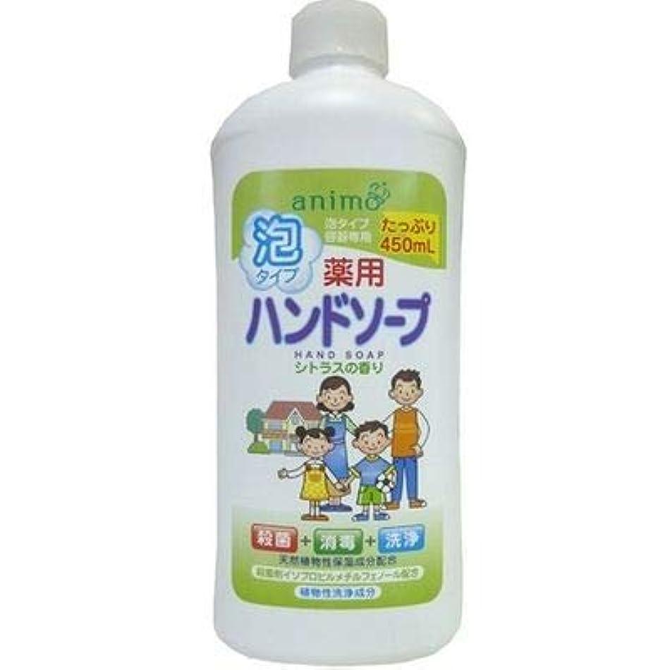 ロケット石鹸 薬用泡ハンドソープ シトラス 詰替用 ボトル 450ML