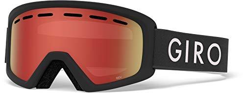 Giro Rev 子供用 Mサイズ フィッティング スノーゴーグル One Size ブラック