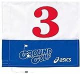 アシックス グラウンドゴルフ 旗 ブルー No3 GGG062.42