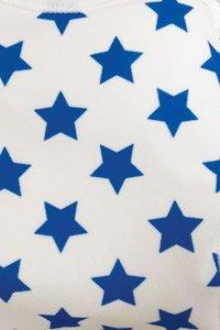 ( チャックル ) chuckle 男の子 おむつカバー 3枚組 【 星柄 / アニマル / 車柄 】 サックス 70cm E2757-70-30
