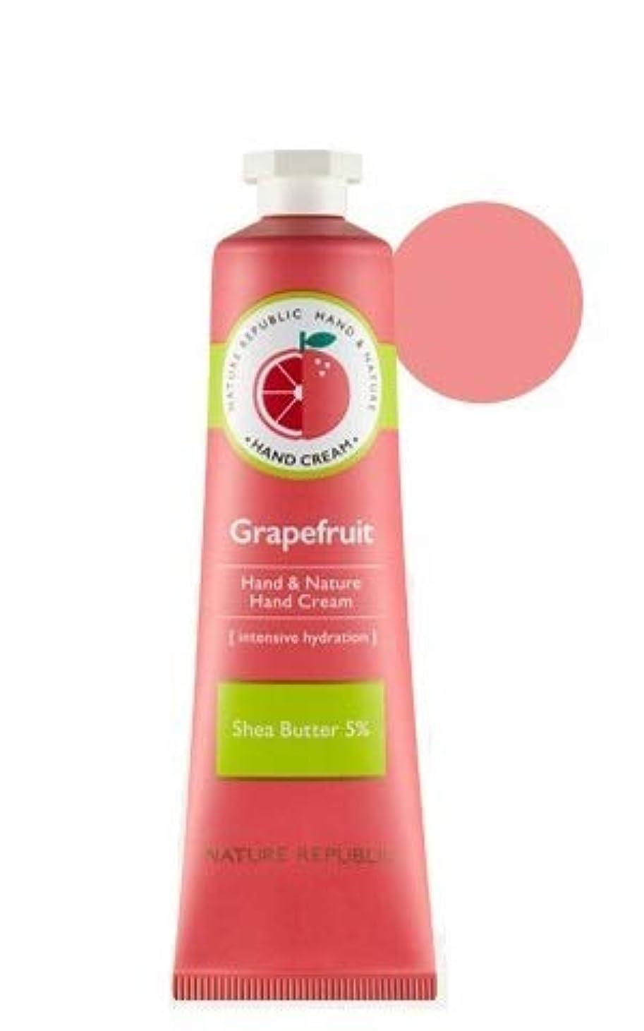 超音速一生関連する[リニューアル]ネイチャーリパブリック NATURE REPUBLIC ハンドアンドネイチャーハンドクリーム Hand & Nature Hand Cream (# GRAPEFRUIT) [並行輸入品]