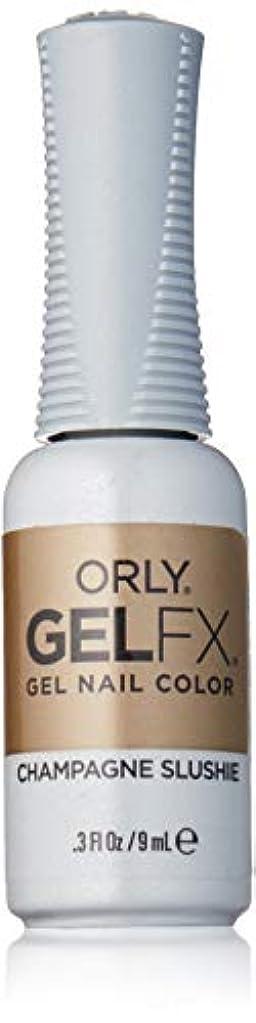 動く液化する保護Orly Gel FX - Darlings of Defiance Collection - Champagne Slushie - 0.3 oz / 9 mL