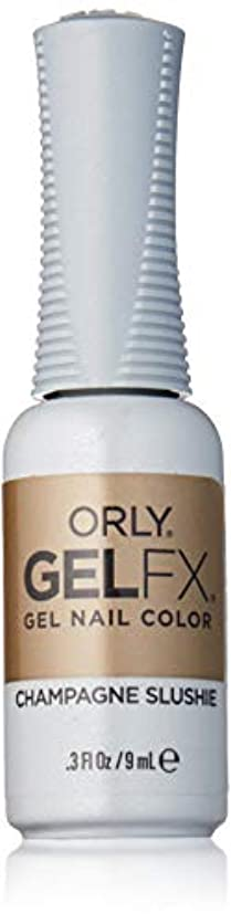 グリース課税カッターOrly Gel FX - Darlings of Defiance Collection - Champagne Slushie - 0.3 oz / 9 mL