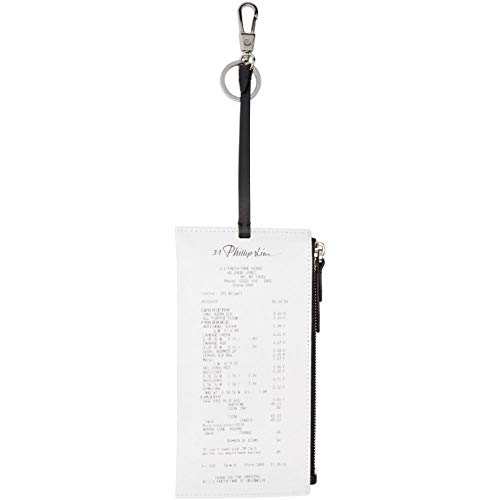 (スリーワン フィリップ リム) 3.1 Phillip Lim メンズ キーホルダー White Receipt Holder Keychain [並行輸入品]