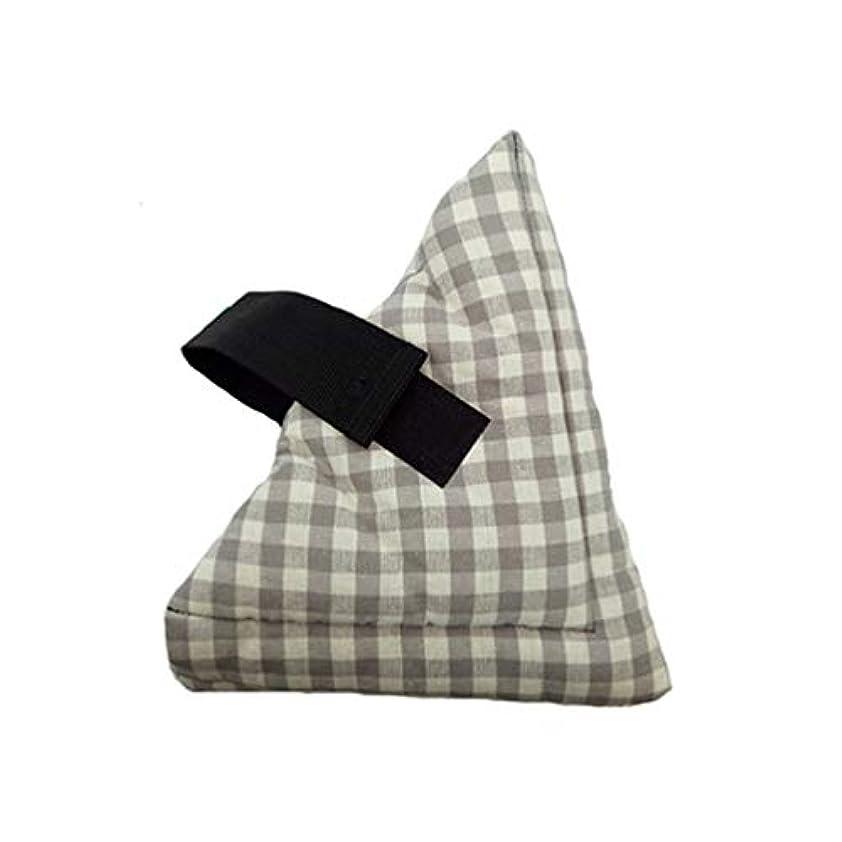 リースについて平らなソフトコンフォートフットピローヒールクッションプロテクター保護枕クッション圧痛とかかと潰瘍リリーフ1個