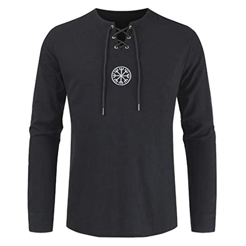 皮肉なおなかがすいた郵便Wyntroy メンズトップス 長袖 開襟 和風 単色 メンズシャツ スポーツウェア トップス 綿麻 スポーティー シャツ ランニング ジョギング シャツ 夏秋 トレーニング スーツ 友達へのプレゼント