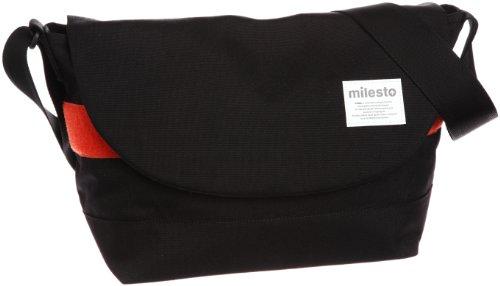 [ミレスト] milesto FLOPPY メッセンジャーL MLS067 BK (ブラック)
