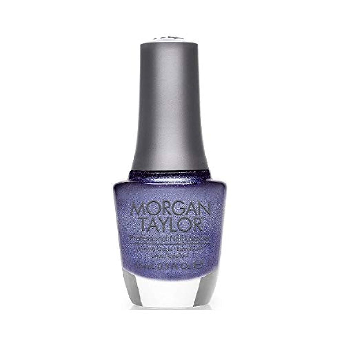 断言する傾いたイヤホンMorgan Taylor - Professional Nail Lacquer - Rhythm and Blues - 15 mL/0.5oz